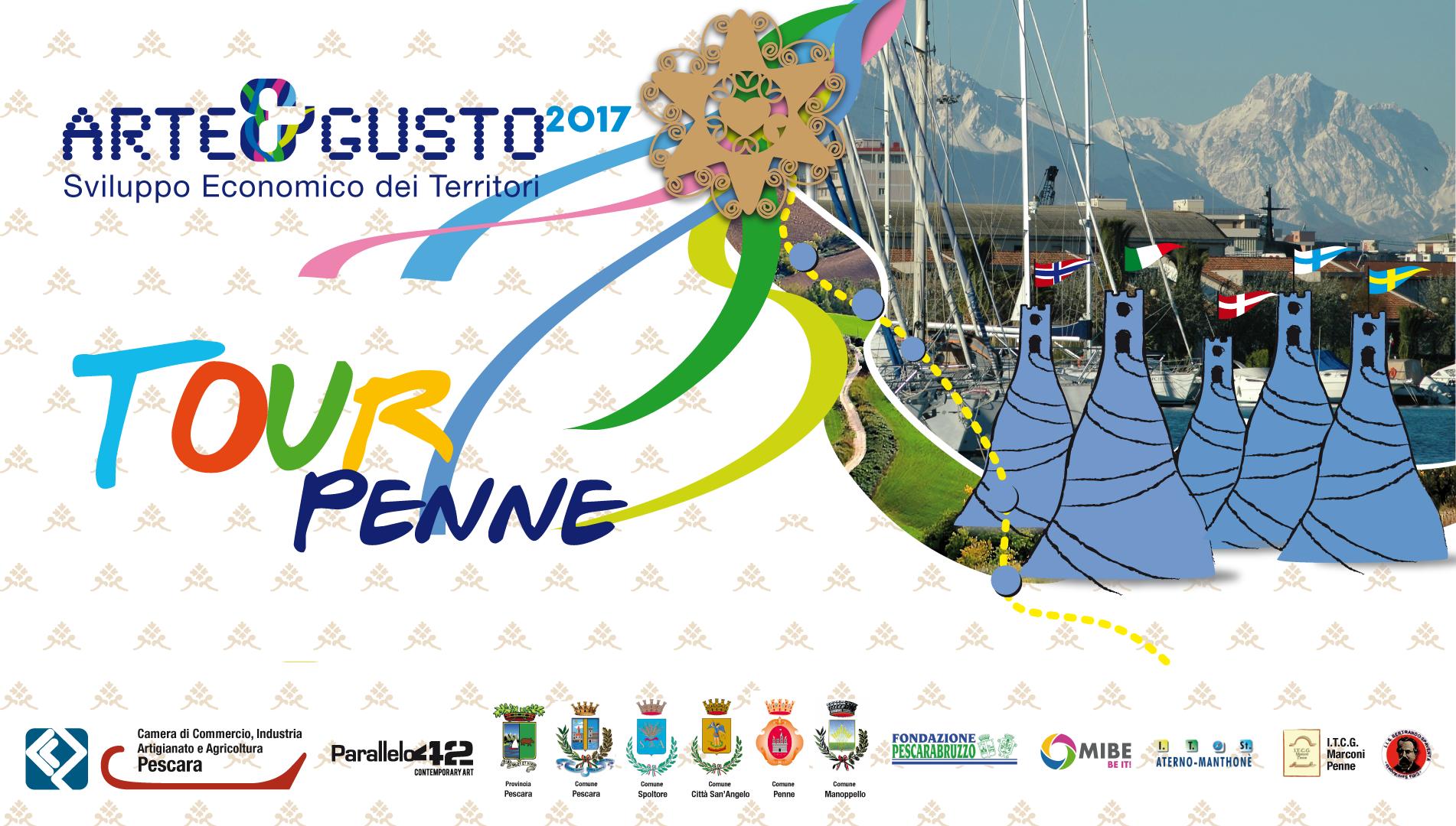 A&G 2017 Copertina-tour-penne